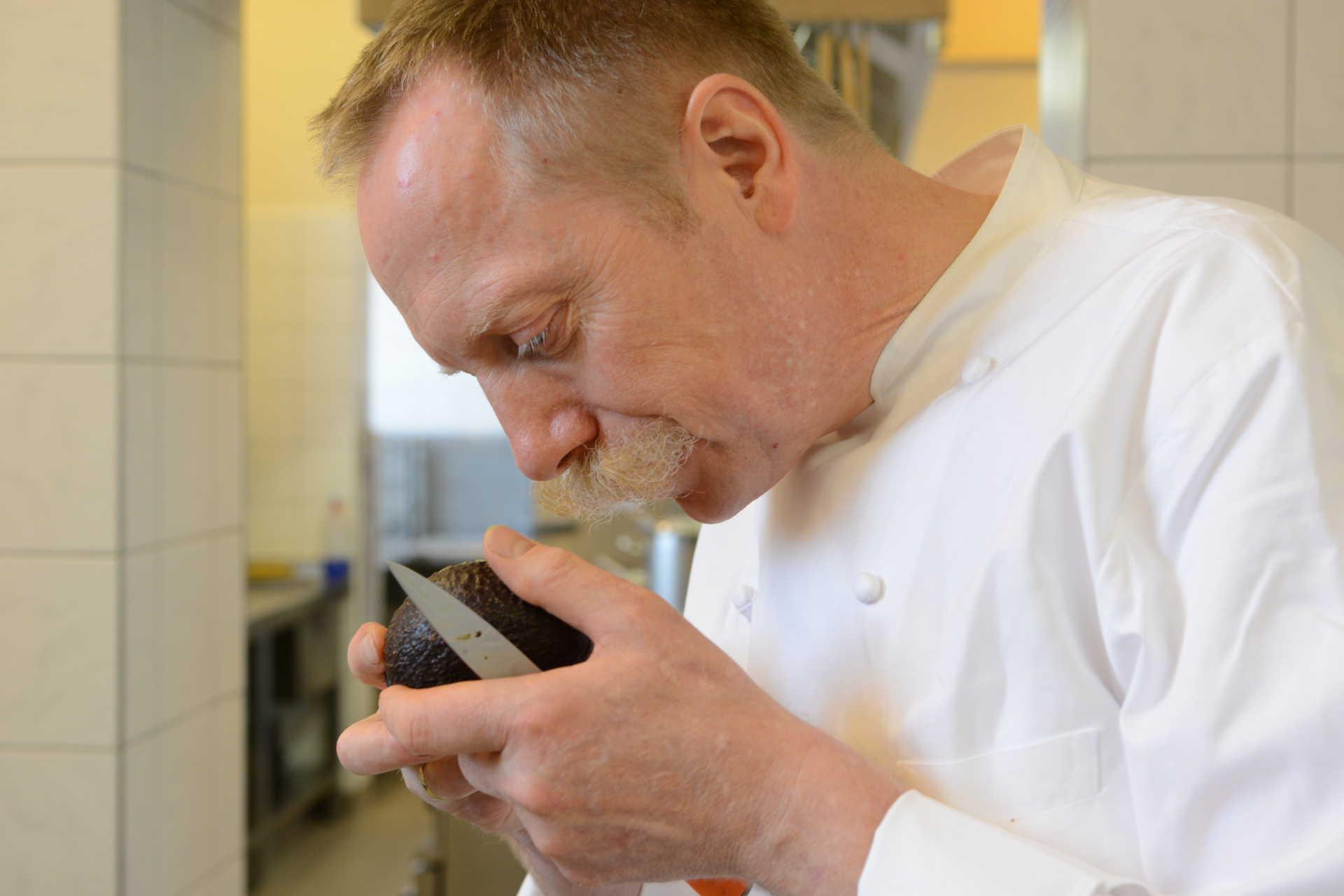 Christoph Beesten in der Küche