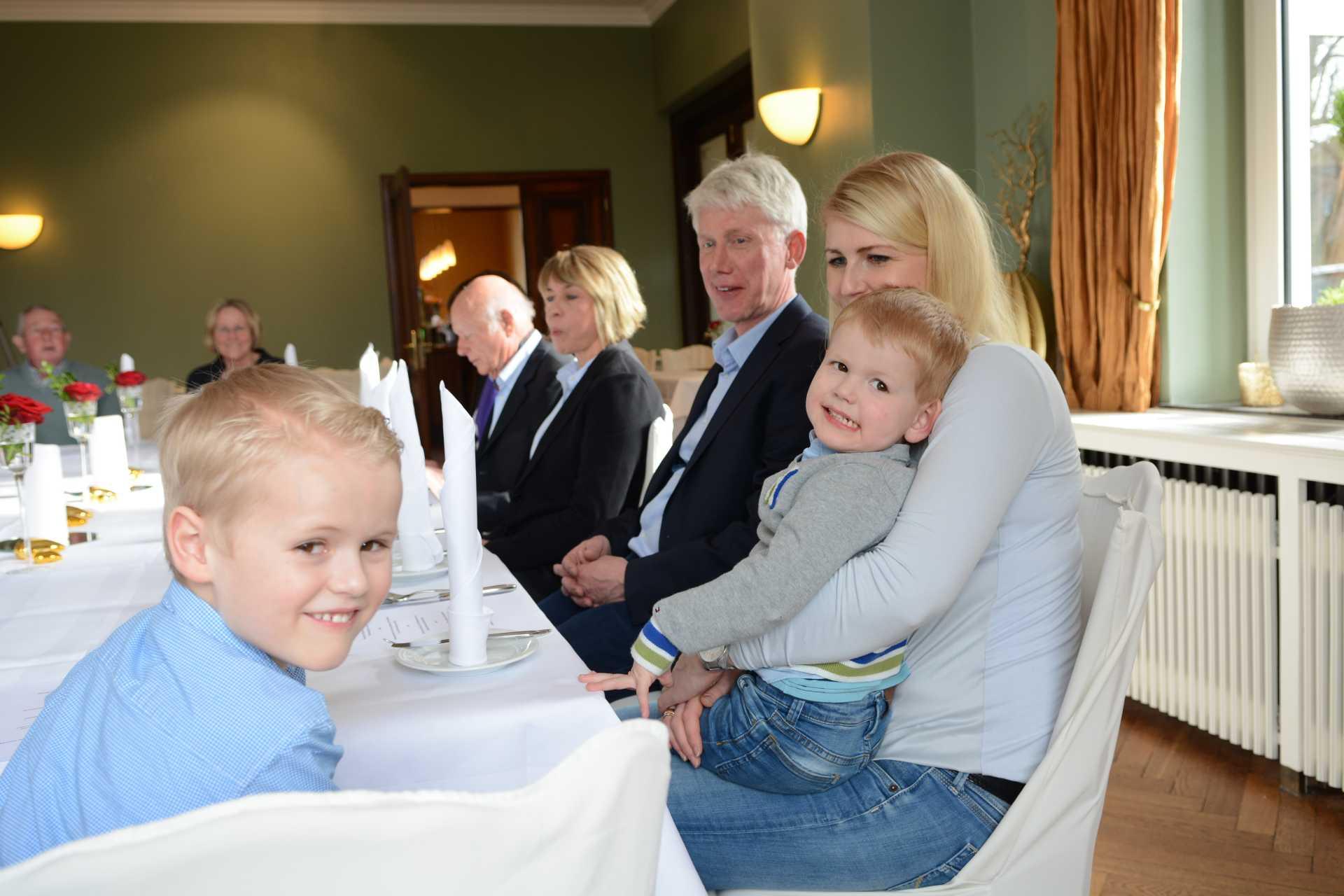 Familienfeier im Restaurant Beesten